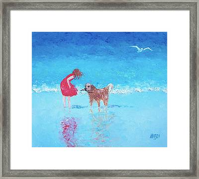 A Summer Breeze Framed Print