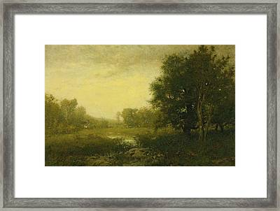 A Summer Day Framed Print by Alexander Helwig