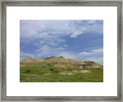 A Summer Day In Dakota Framed Print