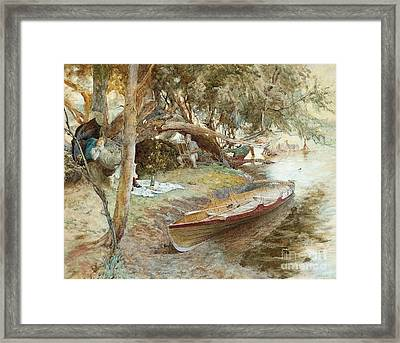 A Summer Idyll Framed Print by MotionAge Designs