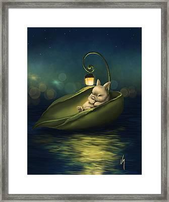 A Summer Night's Dream Framed Print by Veronica Minozzi