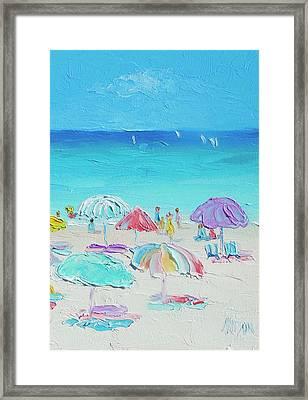 A Summer Paradise Framed Print