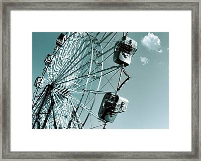 A Summer Ride Framed Print
