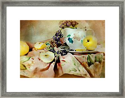 A Summer's Canvas Framed Print