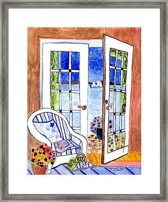 A Summers Afternoon Framed Print