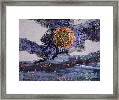 A Sun So Bright Framed Print