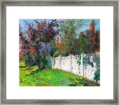 A Sunny Sunday Framed Print by Ylli Haruni