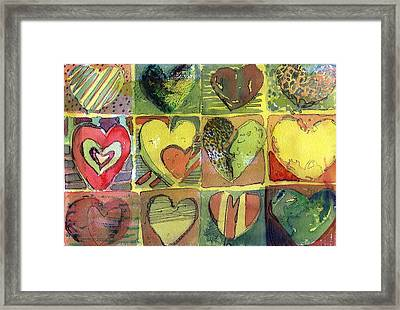 A Sunny Valentine Framed Print by Mindy Newman
