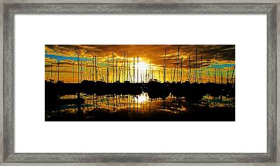 Framed Print featuring the photograph A Sunrise Forever by John King