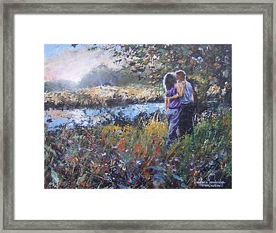 A Sunset Remembered Framed Print by Douglas Trowbridge