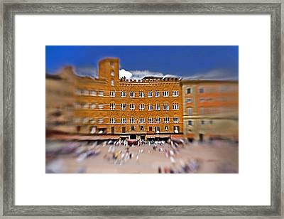 A Surreal Siena Framed Print by Marilyn Hunt