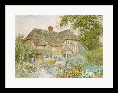 Arthur Claude Strachan Framed Prints