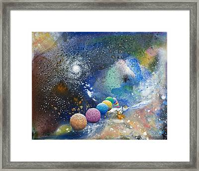 A Sweet Dance In The Heart Of God Framed Print by Lee Pantas