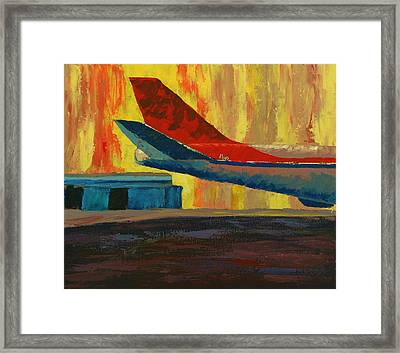 A Tail Of A Thousand Voyages Framed Print