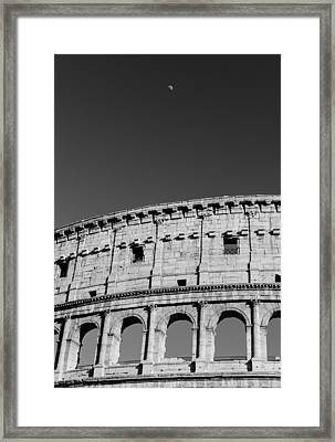 A Tale Under The Silver Moon Framed Print by Andrea Mazzocchetti