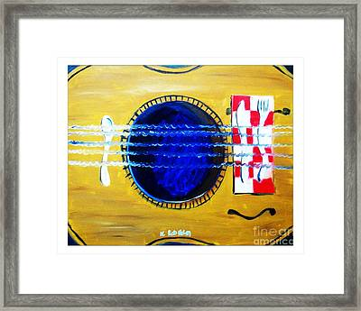 A Taste In Music Framed Print by Nathan Rodholm