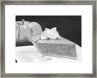 A Taste Of Autumn Framed Print