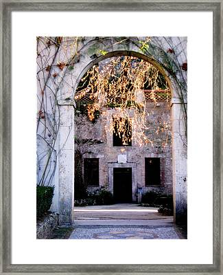 A Taste Of Italy Framed Print