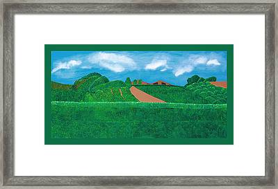 A Taste Of Tuscany Framed Print