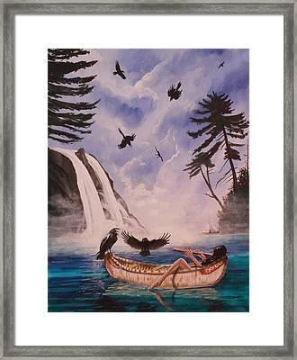 A Tempted Murder Framed Print by Nicholas Paul