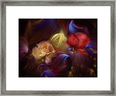 A Thing Of Beauty Framed Print by Lea Wiggins