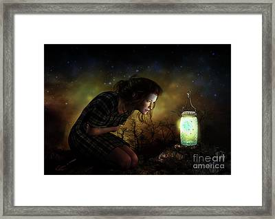 Framed Print featuring the digital art A Thousand Hugs by Shanina Conway