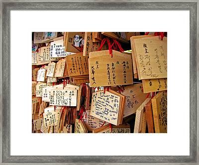 A Thousand Prayers Framed Print