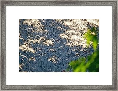 A Thousand Suns - Ring Of Fire Eclipse 2012 Framed Print by Bill Owen