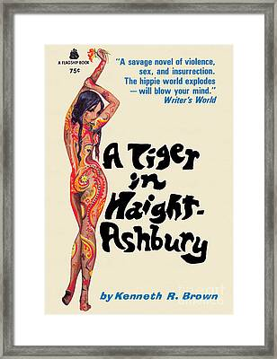 A Tiger In Haight-ashbury Framed Print