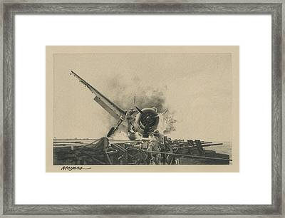 A Time For Courage Framed Print by Wade Meyers
