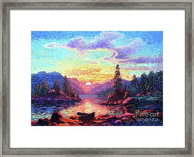 A Time For Peace Framed Print