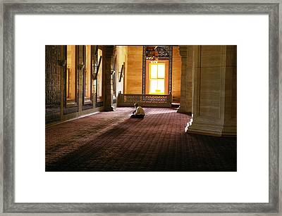 A Time For Prayer Framed Print by Don Prioleau