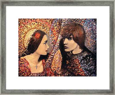 A Time For Us. Romeo And Juliet Framed Print by Aleksei Gorbenko