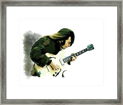 A Time It Was John Lennon Framed Print