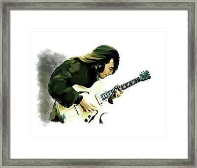 A Time It Was John Lennon Framed Print