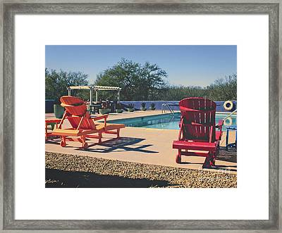 A Time Like This Framed Print by Lucinda Walter