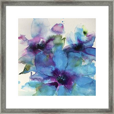 A Time To Bloom Framed Print
