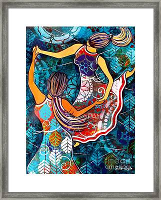 A Time To Dance Framed Print