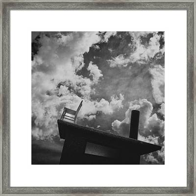 Titanic / The Chair Project Framed Print