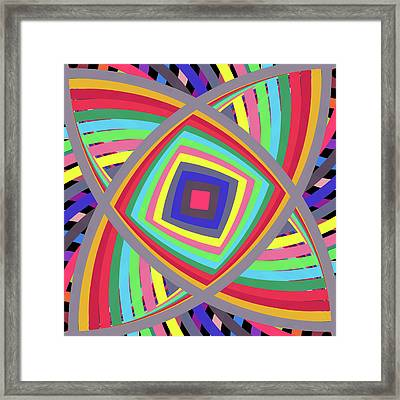 A To Z By 4 -in-the-square- Framed Print