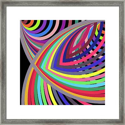 A To Z By 2 -in-the-square- Framed Print