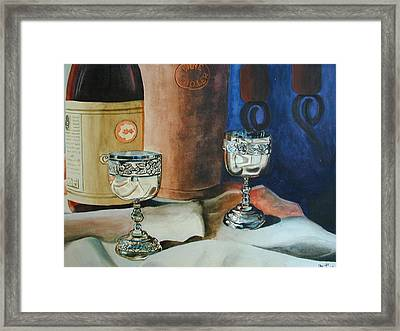 A Toast Framed Print by Dwight Williams