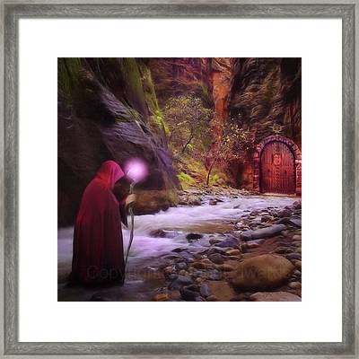 A Touch Of Fantasy - The Road Less Framed Print by John Edwards