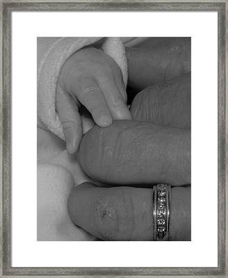 A Touch Of Innocence Framed Print