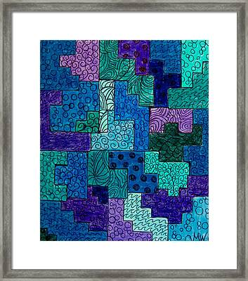 A Touch Of Lilac Framed Print