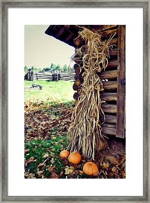 A Touch Of October Framed Print