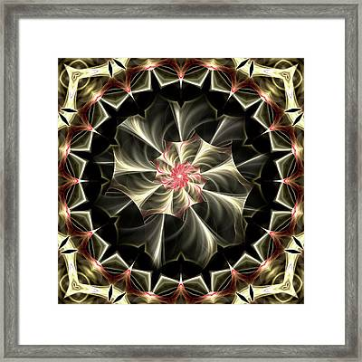 A Touch Of Pink Framed Print by Lea Wiggins