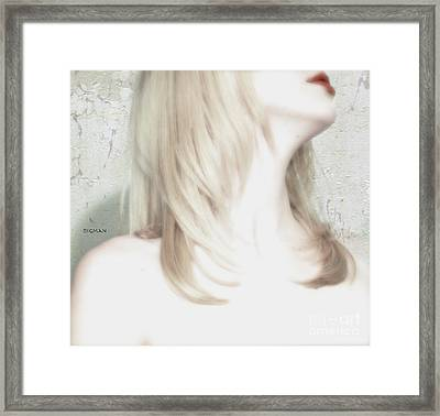 A Touch Of Red  Framed Print by Steven Digman