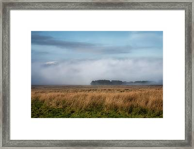 Framed Print featuring the photograph A Touch Of Snow by Jeremy Lavender Photography
