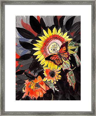 A Touch Of Summer Framed Print by Connie Valasco